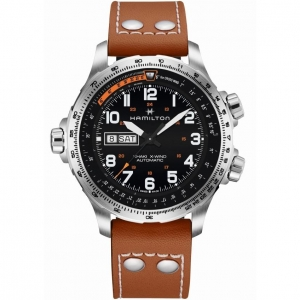 Hamilton Khaki X-Wind Day Date Auto 45mm H77755533
