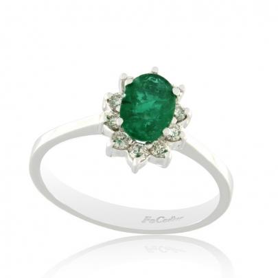 Δαχτυλίδι Ροζέτα Κ18