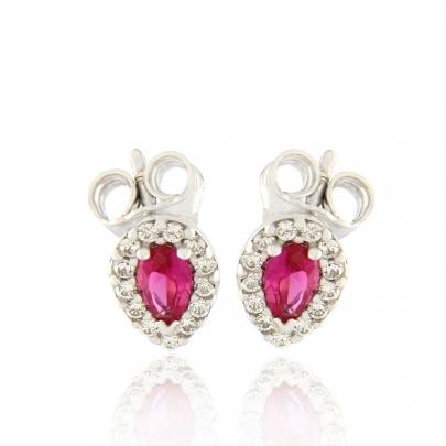 Σκουλαρίκια Ροζέτα Κ14 EAR-RI-000544