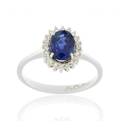 Δαχτυλίδι Ροζέτα Κ18 DIF-1