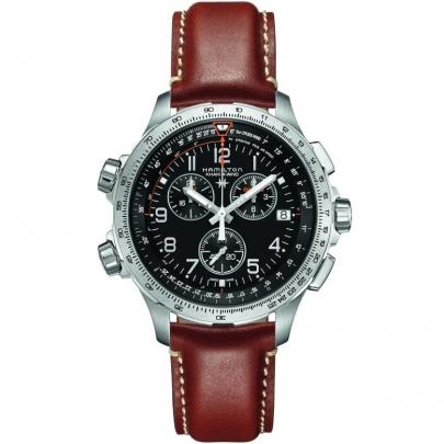 Hamilton Khaki-X Wind GMT Chrono 46mm H77912535
