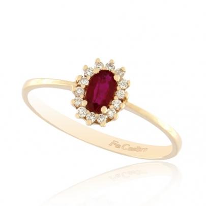 Δαχτυλίδι Ροζέτα Κ18 RI-2172-19