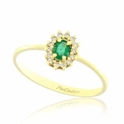 Δαχτυλίδι Ροζέτα Κ18 RI-2172-22