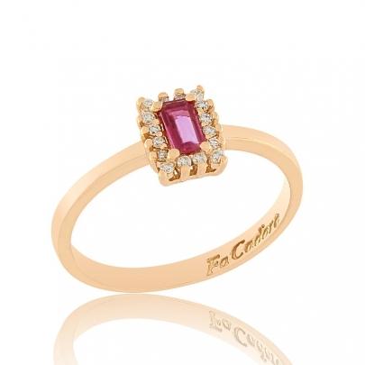 Δαχτυλίδι Ροζέτα Κ18 RI-2399