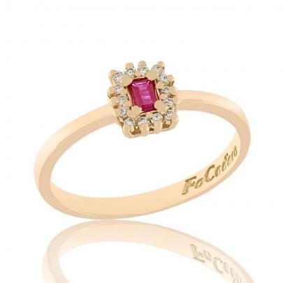 Δαχτυλίδι Ροζέτα Κ18 RI-2400P