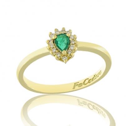 Δαχτυλίδι Ροζέτα Κ18 RI-2401G