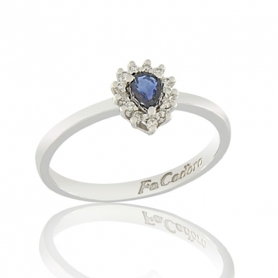 Δαχτυλίδι Ροζέτα Κ18 RI-2401W