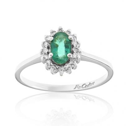 Δαχτυλίδι Ροζέτα Κ18 RI-451E