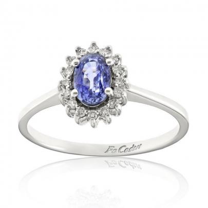 Δαχτυλίδι Ροζέτα Κ18 RI-451S