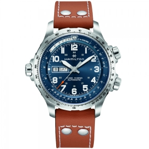 Hamilton Khaki X-Wind Day Date Auto 45mm H77765541