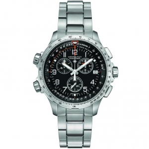 Hamilton Khaki-X Wind GMT Chrono 46mm H77912135