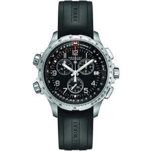 Hamilton Khaki-X Wind GMT Chrono 46mm H77912335