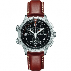 Hamilton Khaki-X Wind GMT Chrono 46mm H77912535